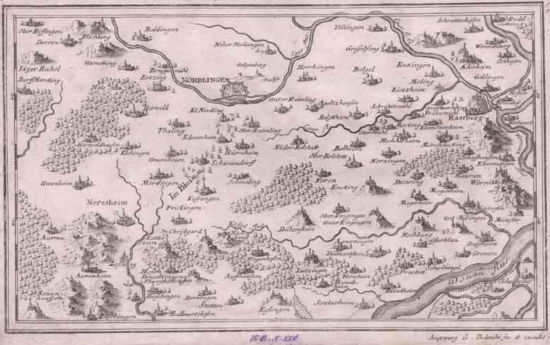 Nördlingen Ries, Härtsfeld, Neresheim, Heidenheim usw